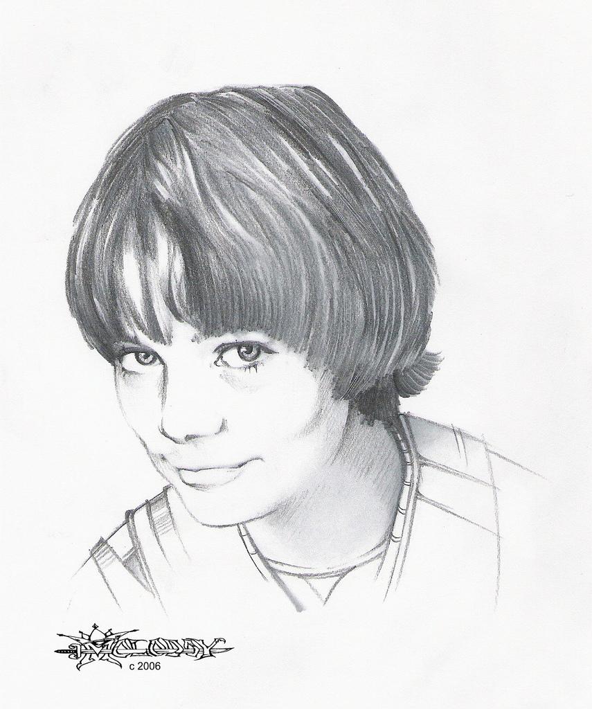 Молодой рисунки