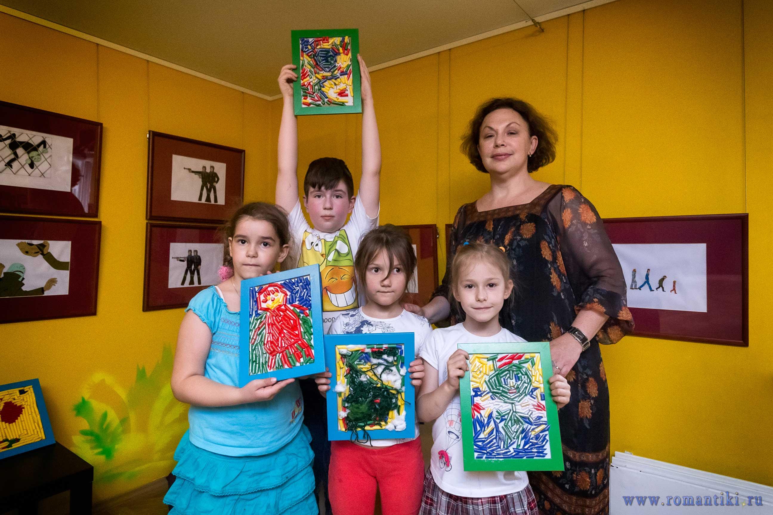 образцы детского творчества на студии